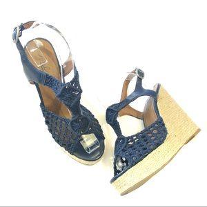 Lucky Brand Rilo Macrame espadrille wedge heel